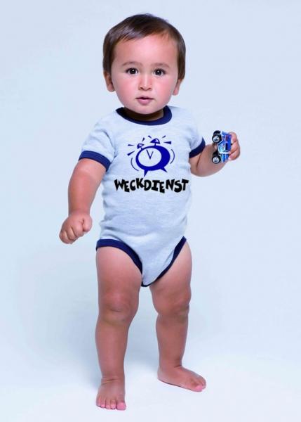 Babybodys Mit Sprüchen : babybody witzig bedruckt mit dem spruch weckdienst ~ Buech-reservation.com Haus und Dekorationen