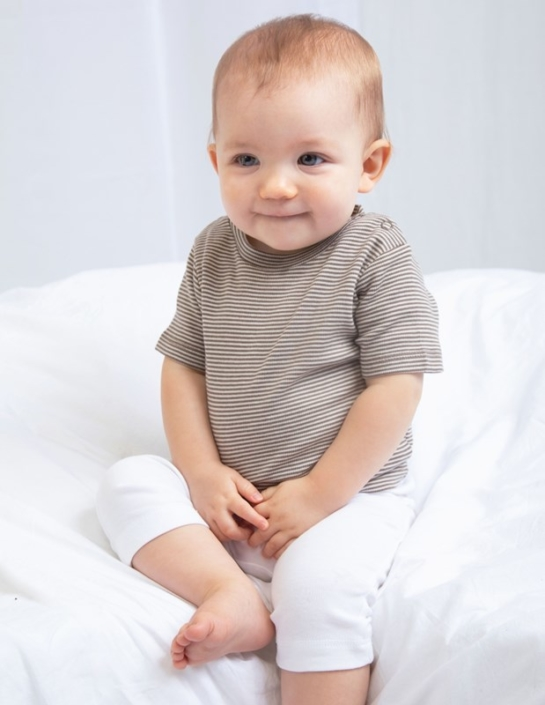 Babybekleidung mit Firmenlogo - Baby-tshirt bunt