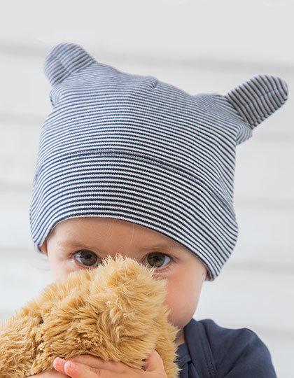 Babymuetze Biobaumwolle bedruckt