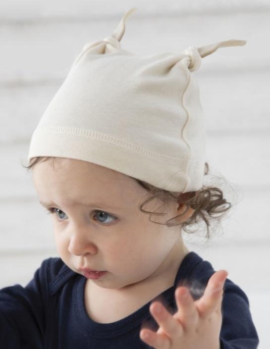 Babymütze aus Biobaumwolle