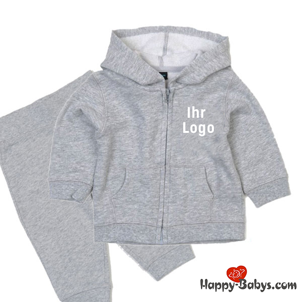 Baby Jogginganzug mit Logo bedruckt