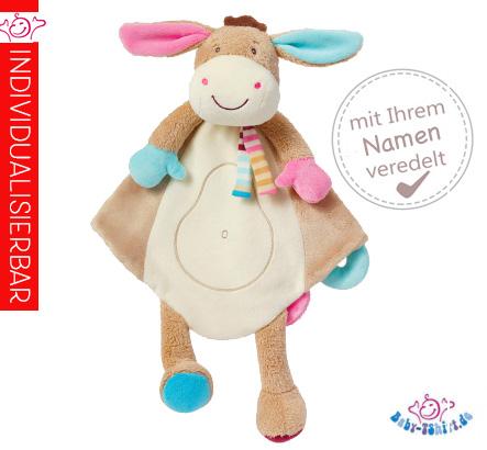 Baby Schmusetuch Esel