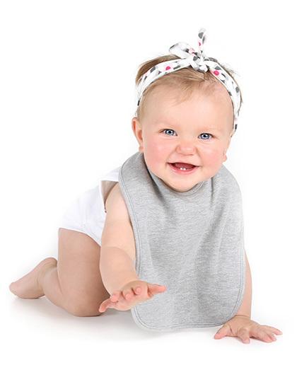 Babylätzchen mit Logoaufdruck