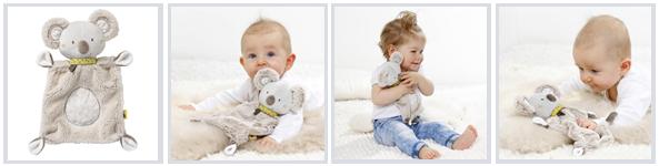 Baby Schmusetuch mit Logo