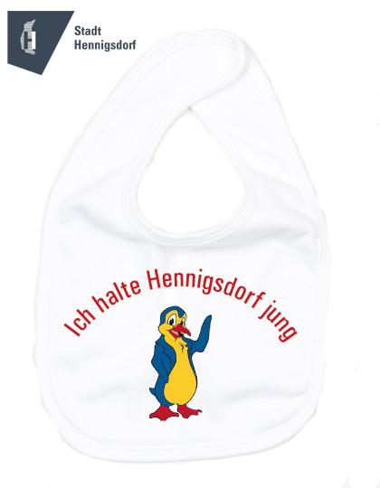 Babylaetzchen mit Aufdruck Logo