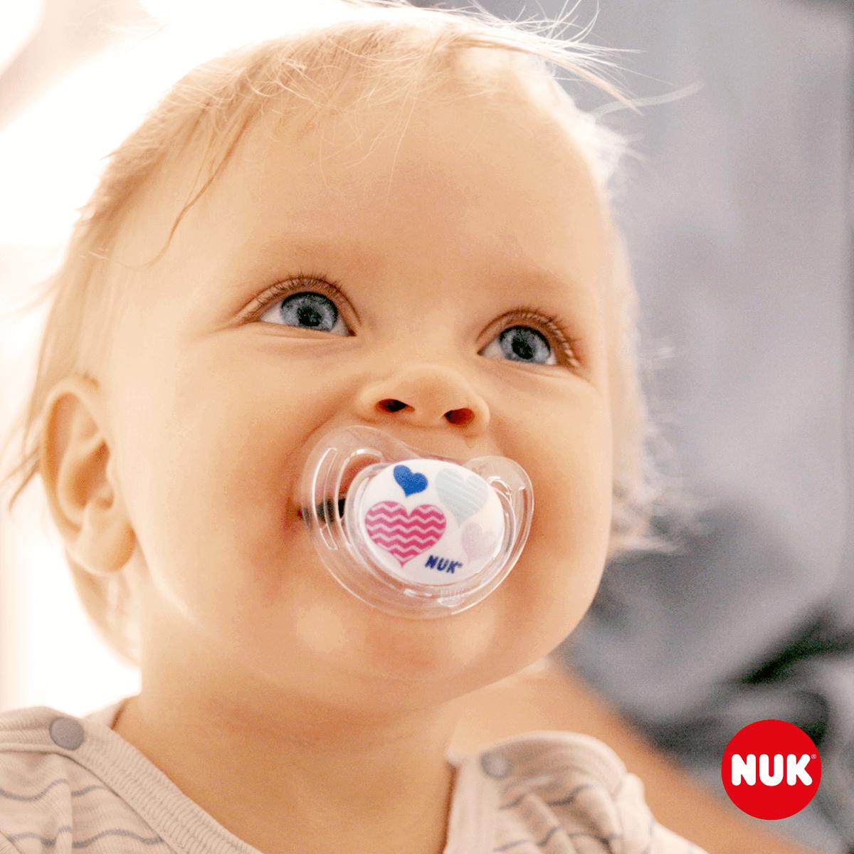Babyschnuller mit Logoaufdruck