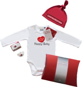 Babywerbeartikel mit Firmenlogo bedruckt